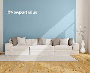 idée déco salon, couleur bleue, nuancier Mauvilac