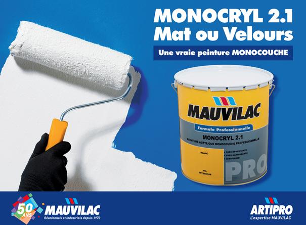 Monocryl 2.1 Mat et velours